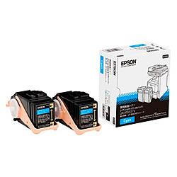 純正品 EPSON (エプソン) LPC3T31CPV LP-M8040シリーズ用環境推進トナーMシアン6500P2本 (LPC3T31CPV) 目安在庫=○
