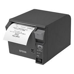 エプソン TM702UE232 サーマルレシートプリンター TM-T70II80mmダークグレー 取り寄せ商品