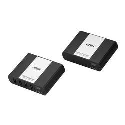 ATEN LAN経由 4ポート USB2.0 Cat5タイプ エクステンダー(最大100m延長)(UEH4102) 取り寄せ商品