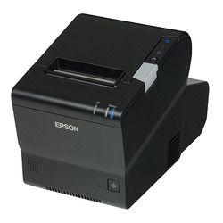 エプソン サーマルレシートプリンターWIN OS搭載Intel Celeron有線LANブラック(T886DT2604) 取り寄せ商品