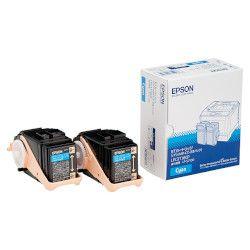 純正品 EPSON (エプソン) LPC3T18CP LP-S7100/S8100用トナーカートリッジ/シアン/Mサイズ×2個 (LPC3T18CP) 取り寄せ商品