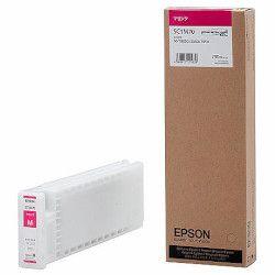 純正品 EPSON (エプソン) SC1M70 Sure Color用 インクカートリッジ/700ml(マゼンタ) (SC1M70) 目安在庫=△