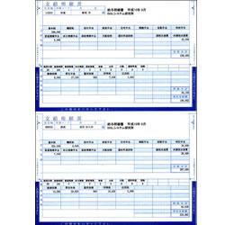 BSLシステム研究所 BK-2003 給与明細(折封式) 取り寄せ商品