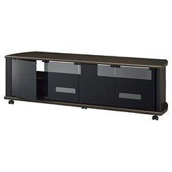 ハヤミ工産 52~60V型対応 テレビ台 TIMEZ・MSseries ダークブラウン(TV-MS140H) 取り寄せ商品