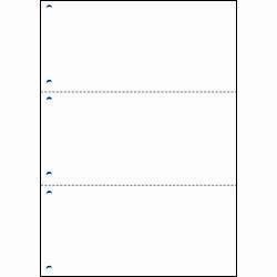 BSLシステム研究所 A4HF3-6 マルチプリント用紙 A4三面付き単票6穴 取り寄せ商品