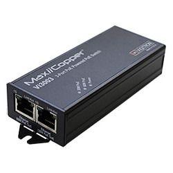 ハイテクインター MaxiiCopper Vi3003 PoE++(60W)リピータスイッチ 172-VG-013 取り寄せ商品