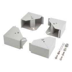 摂津金属工業 配線ベース NPBSシリーズ ホワイトグレイ NPBS-10N9 取り寄せ商品