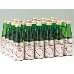 シャイニー 青森の味!スパークリングアップルジュース瓶 200ml×72本(SP72) 目安在庫=○