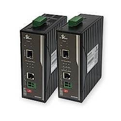 ハイテクインター ED3538R(産業用電話線PoE延長装置) 171-EW-002 取り寄せ商品