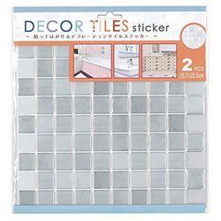 エス・ティー・イー デコタイルステッカー スクエア ホワイト(2シート入×3セット)(ITLA001*3) 取り寄せ商品