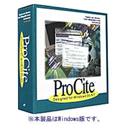 ディジタルデータマネジメント ProCite Ver.5 for Win 取り寄せ商品
