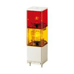 パトライト 小型積層回転灯(□82) KJS-210-RY 取り寄せ商品