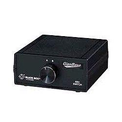 ブラックボックス・ネットワークサービス SWJ1000A 1000BASE-T対応 RJ-45 ABCスイッチ 取り寄せ商品