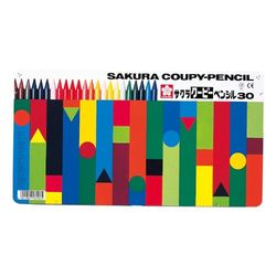 サクラクレパス クーピーペンシル30色 5個(FY30*5) 取り寄せ商品