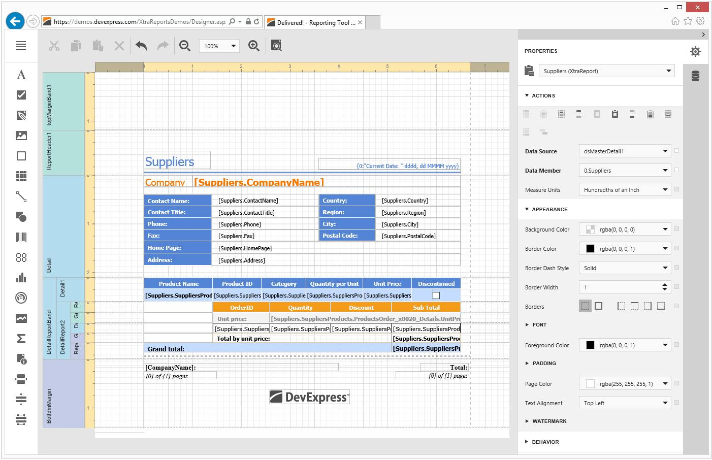DevExpress Reporting(英語版)1開発ライセンス+バックアップDVD