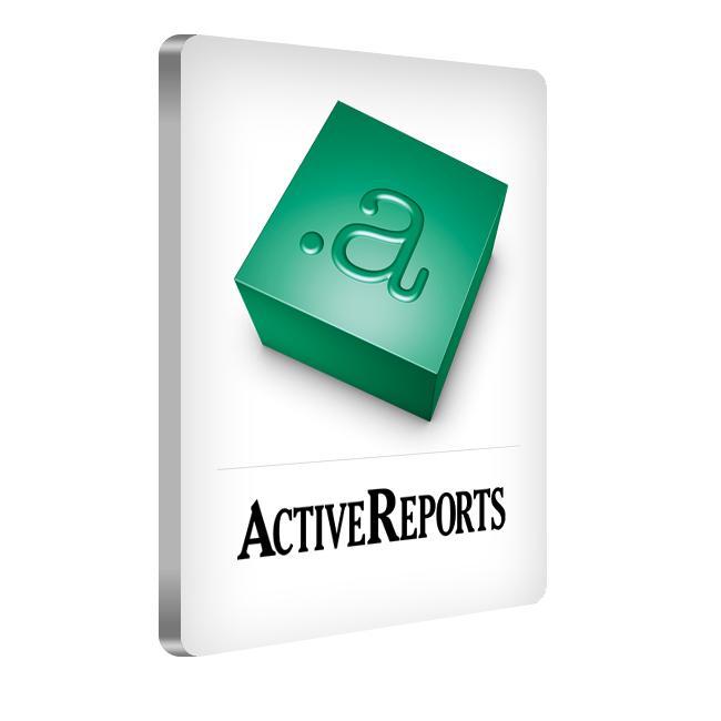 ActiveReports for .NET 14.0J Professional(日本語版) 1開発ライセンス+バックアップDVD