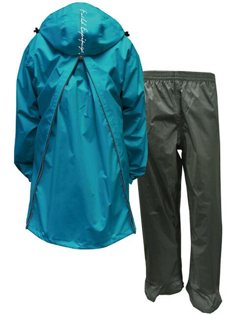 リュックを背負ったまま着用できるレインウェア 通勤 登山等のアウトドアに最適 バックを背負わない時は 通常のレインウェアとしてご使用可能 軽く ムレを逃がす透湿素材 送料無料 即日発送 リュックを背負ったまま着用できる トオケミ メンズ バックパッカー仕様 軽量 透湿レインスーツ アウトドア 通学 ライム レインウェア 荷物 #7890-BP 登山 雨具 アリアBP 男性用 バイク カッパ ブルー セール品 新生活 〈ポーチ付〉 防水