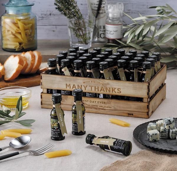 プチギフト 結婚式 ボンボリーヴァ(オリーブオイル)40個セット 名入れ対応 ウェルカムボード パーティー ギフト オリーブオイル