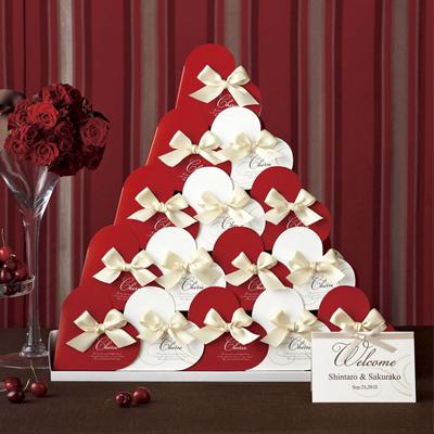 プチギフト プチシェリエ(ハートラスク)ウエルカムオブジェ30個セット 結婚式 二次会 披露宴 プチギフト ウエルカムオブジェ ブライダル ウェディング ウエディング イベント パーティー