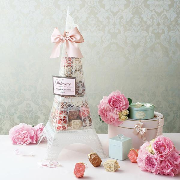プチギフト Paris de Tower(マカロンクッキー)36個セット 披露宴 プチギフト 結婚式 二次会 ブライダル ウエディング ウェディング ウェルカムオブジェ お菓子