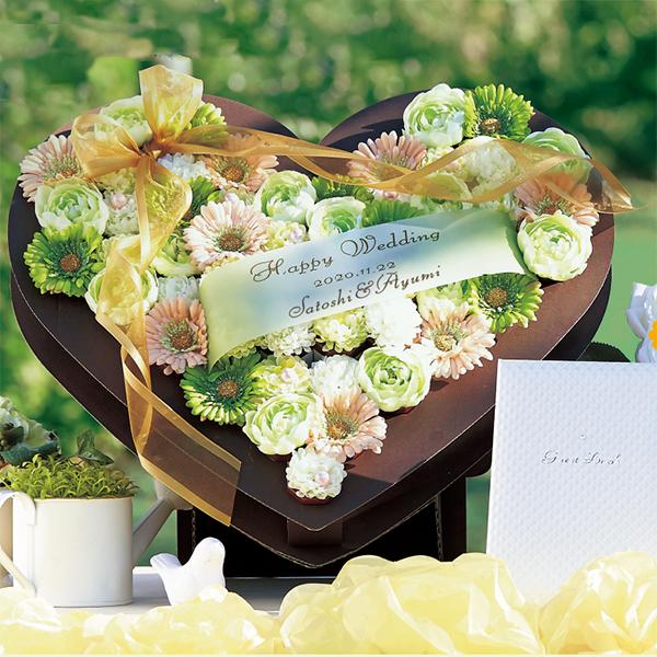 ハートガーデン53個セット 結婚式 二次会 プチギフト クッキー お菓子 ギフト ウェルカムアイテム ウェルカムボード 名入れ プレゼント ウェディング 演出