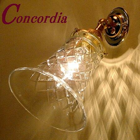 【ブラケットライト WB235+421/CUT】真鍮とガラス イギリスのデザイン アンティーク調 トラディショナル 玄関 リビング 応接室 エレガント LED電球使用可