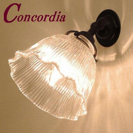【ブラケットライト WB235/Z+201/CLR】真鍮 ガラスシェード アンティーク風 壁照明 レトロ デザイン お洒落 本物 階段 廊下 アイアン風 LED電球使用可