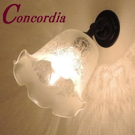 【ブラケットライト WB235/Z+352E/SAT】真鍮 ガラス アンティーク調 壁照明 ヨーロッパ クラシカル エレンガント 本物 鏡 洗面所 アイアン風 LED電球使用可