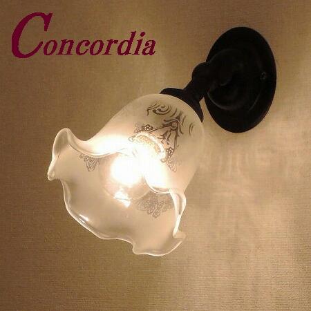 【ブラケットライト WB235/Z+360/SAT】真鍮 ガラス アンティーク風 壁照明 デザイン レトロ おしゃれ 洋館 階段 洗面所 アイアン風 LED電球使用可