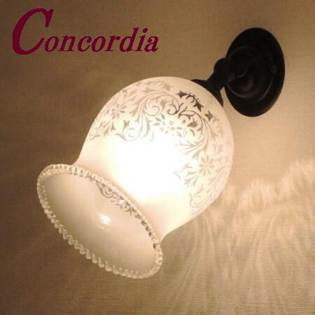 【ブラケットライト WB235/Z+410M/SAT】真鍮製 ガラスシェード アンティーク調 ブラケット照明 レトロ デザイン かわいい 高級 廊下 鏡 黒 LED電球使用可