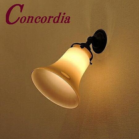 【ブラケットライト WB235/Z+421/IVO】真鍮 ガラス アンティーク風 壁照明 シック クラシック かわいい 本物 階段 玄関 アイアン風 LED電球使用可