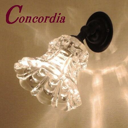 【ブラケットライト WB235/Z+475/CLR】真鍮製 ガラスシェード アンティーク風 ブラケット照明 デザイン レトロ 可愛い 本格的 廊下 洗面所 黒 LED電球使用可