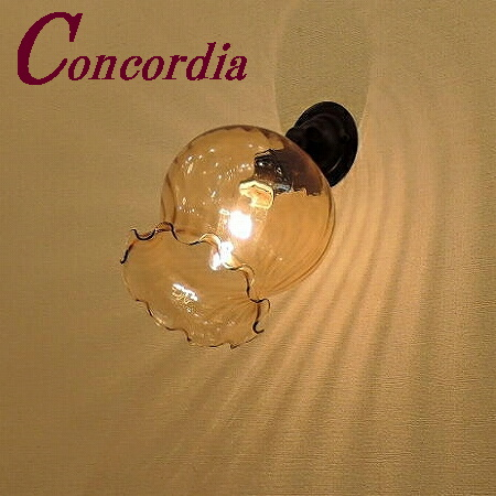 【ブラケットライト WB235/Z+520/AMB】真鍮 ガラス アンティーク風 壁照明 レトロ デザイン エレンガント 洋館 玄関 鏡 アイアン風 LED電球使用可