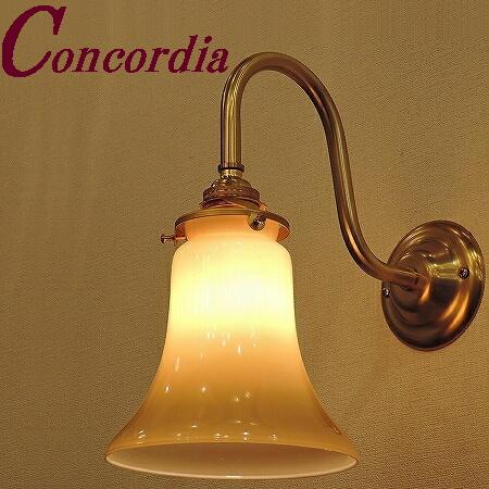 【ブラケットライト WB241+421/IVO】 真鍮 ガラスシェード アンティーク調 壁照明 トラディショナル ヨーロッパ おしゃれ 洋館 玄関 洗面所 LED電球使用可