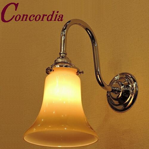 【ブラケットライト WB241/Y+421/IVO】 真鍮製 ガラス アンティーク風 ブラケット照明 クラシック かわいい 本物 寝室 洗面 クロム LED電球使用可