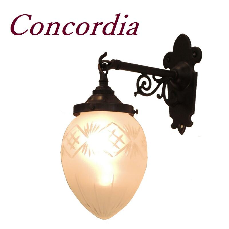 【ブラケットライト WB251/Z+963F/CUT】 真鍮 ガラスシェード アンティーク調 ブラケット照明 レトロ 可愛い 洋館 トイレ 玄関 アイアン風 LED電球使用可