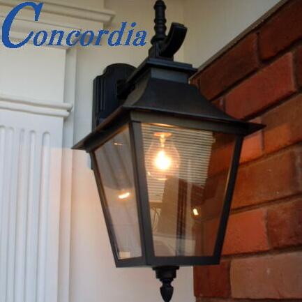 玄関照明 EW091/D 屋外照明 エクステリアライト ポーチライト 輸入 イタリア アルミ鋳造 ガラス アンティーク風 レトロ トラディショナル ヨーロッパ