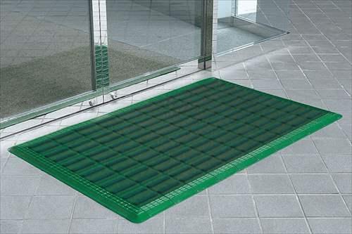 山崎産業 コンドル エバックブラシハードマットYL #6(60×90cm)Gグリーン
