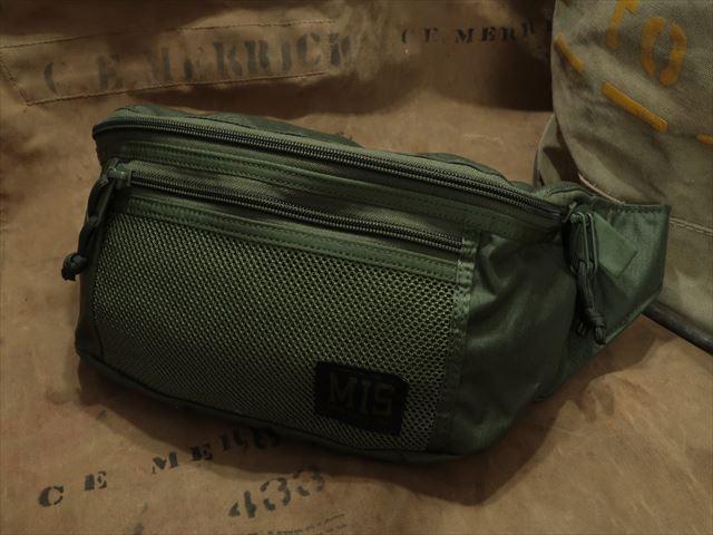 MIS MESH WAIST BAG [OLIVE DRAB] / エムアイエス メッシュ ウエスト バック [オリーブドラブ] [アメリカ製]