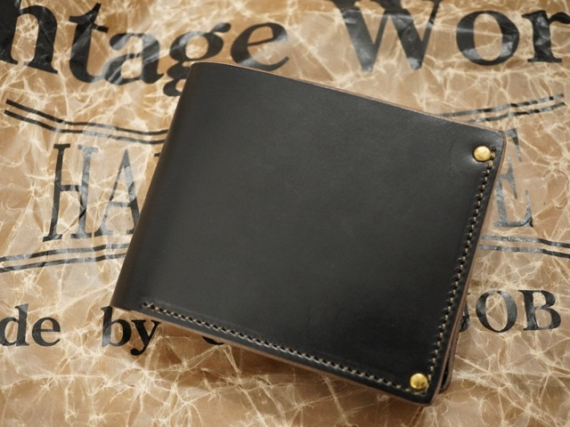VINTAGE WORKS LEATHER WALLET [VWSW-3 V.BLACK] / ビンテージ ワークス レザーウォレット