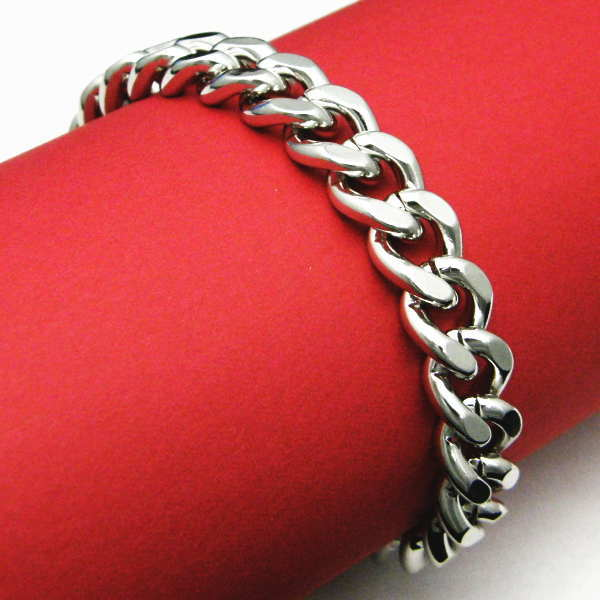 Kihei Chain Bracelet Thick Silver Gift Bags Por Mail Order Translation Leading Amount Limited