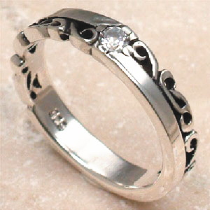 アラベスク リング 指輪 シルバーリング シルバー925 シルバー 925 メンズ 彼氏 レディース 彼女 //【市場】【送料無料】←DM便