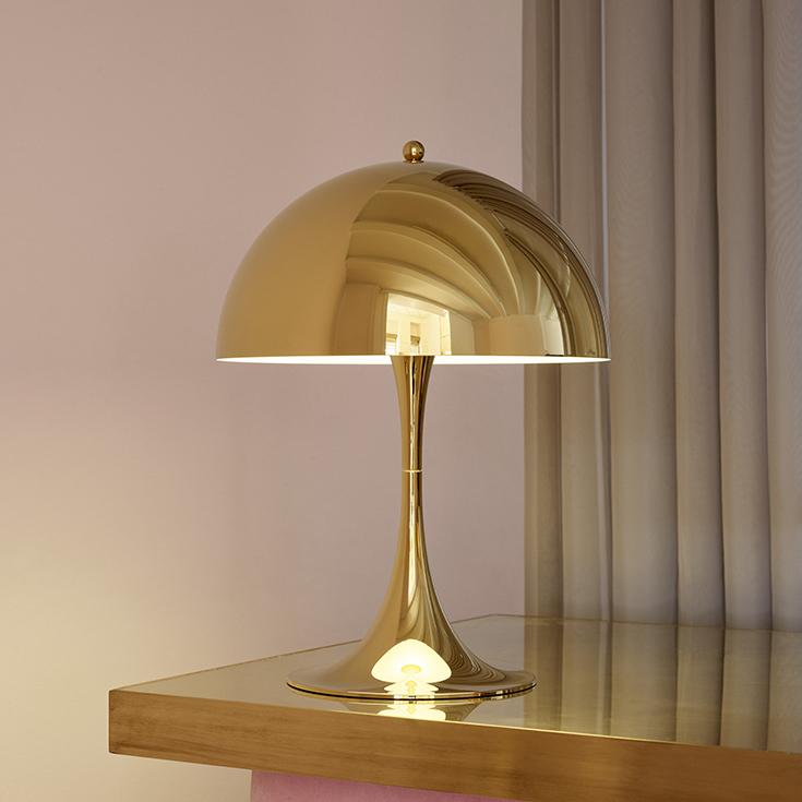 Louis Poulsen(ルイスポールセン) / Panthella Table(パンテラ テーブル)320 / 真鍮メタライズド / テーブルランプ