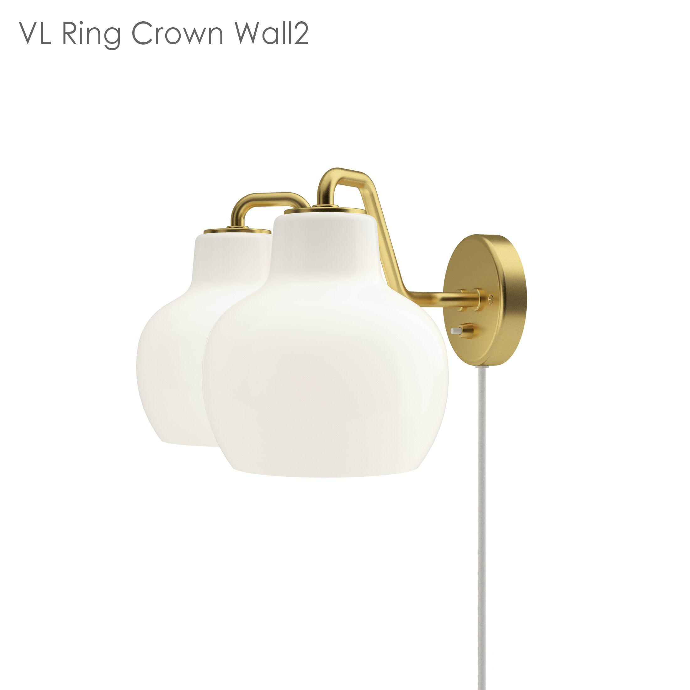 louis poulsen ルイスポールセン VL Ring Crown Wall(リングクラウン)ウォール 2灯