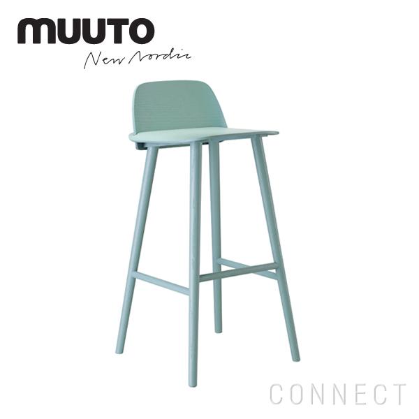 muuto(ムート)/ NERD BAR STOOL(ナード バー スツール) 75 ペトロレウム カウンターチェア