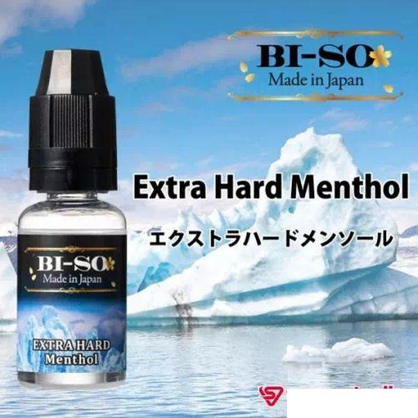 キツすぎず弱すぎない絶妙な刺激がクセになる 電子タバコ VAPE ベイプ リキッド フレーバー BI-SO エクストラハードメンソール 強メンソール 15ml ニコチン タール なし