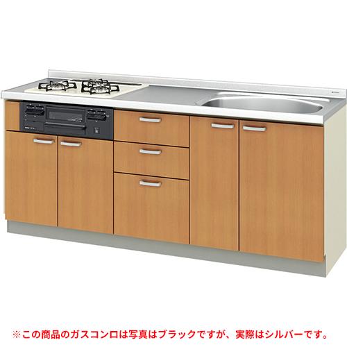 メーカー直送 リクシル 取り替えキッチン パッとりくん GKシリーズ フロアユニット [GK*-U-190SNBD**] 間口190cm ラウンド68シンク