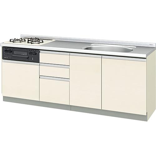 メーカー直送 リクシル 取り替えキッチン パッとりくん GXシリーズ フロアユニット [GX*-U-210SNAC**] 間口210cm ラウンド68シンク