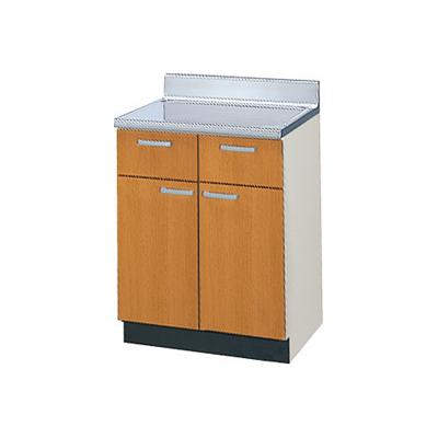 メーカー直送品 LIXIL リクシル セクショナルキッチン 木製キャビネット GSシリーズ 調理台 間口60cm[GS(M・E)-T-60Y]