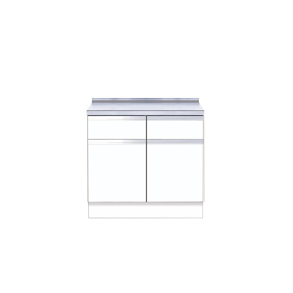 メーカー直送 送料無料 【マイセット】キッチン 単体キッチン 深型 調理台 M4 間口90cm[M4-90T*]【MYSET】 道幅4m未満配送不可